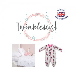 Twinkledust, baby and toddler clothing made in england,