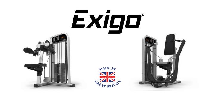 exigo, commercial gym equipment, british made gym equipment