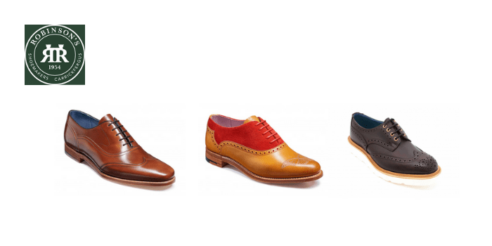 Robinson's shoes, best british shoe brands