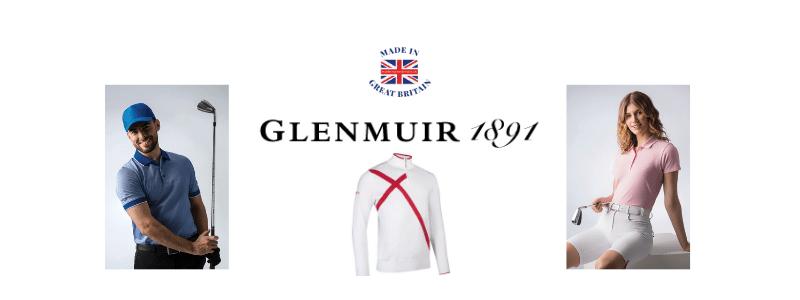 british golf equipment brands, british made golf clothing, glenmuir