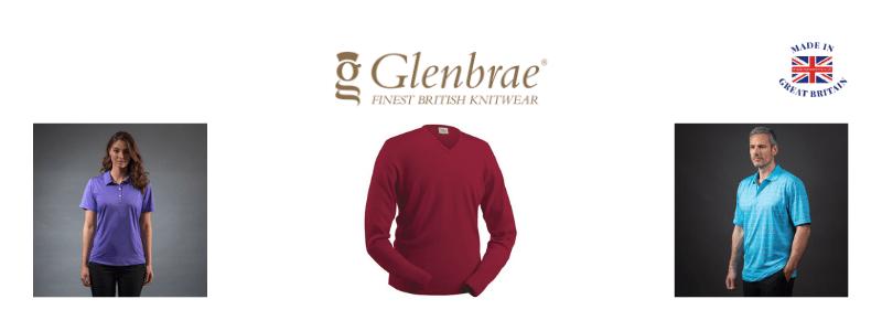 golf clothing uk, glenbrae, merino jumpers and polo shirts