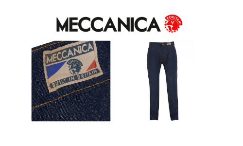meccanica, british built denim, british made jeans, uk jeans brands, made in britain
