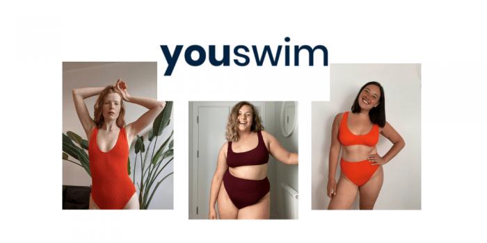 youswim, swimwear uk, plus size swimwear uk, british swimwear brands