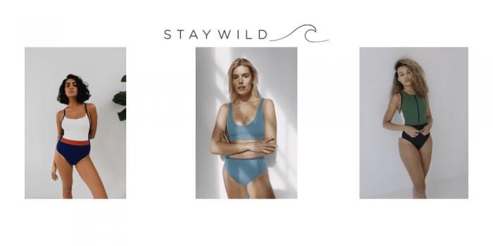 stay wild swim, bikibis uk, swimwear uk, made in london