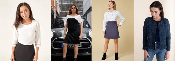 uk womenswear brands, womenswear uk, jennifer anne petite collection, petite womenswear made in uk