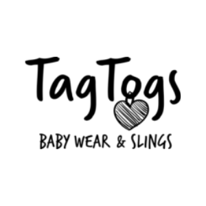 tag togs, babywear and baby slings, made in britain, logo, british blog