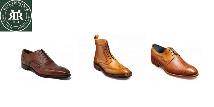 robinsons shoe collections of barkers trickers boots cheaney and draper, best british shoe brands