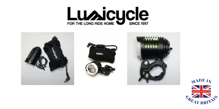 lumicycle, lights for bicycle and mountain bikes made in uk, cycling equipment made in uk