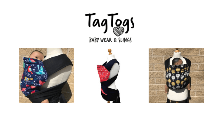 mei tai carriers, tag togs, babywearing, made in britain