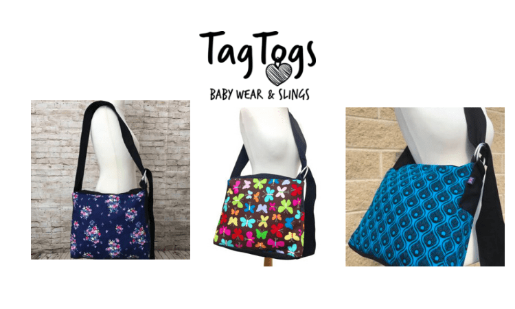 tag togs, babywearing bags, made in uk