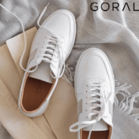 goral made in england since 1936 black text on white bacground, british made men's shoes, men's shoes made in britain