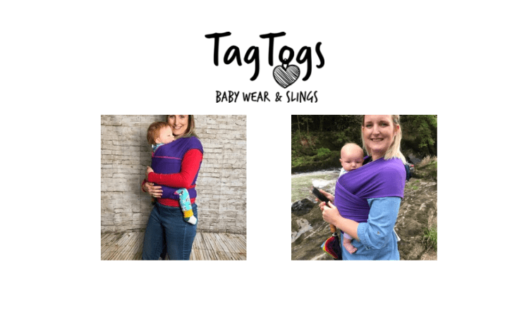 tag togs, babywearing, baby wraps, baby slings, made in britain