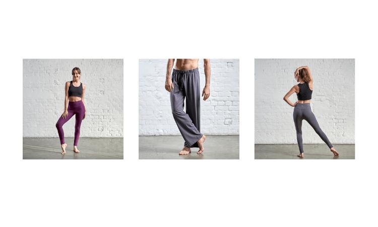 gossypium, yoga wear, made in great britain, activewear