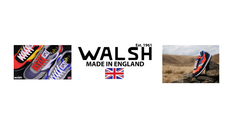 Norman Walsh, British sportswear brands, Sports Footwear, Trainers, Made in England, Made in Great Britain