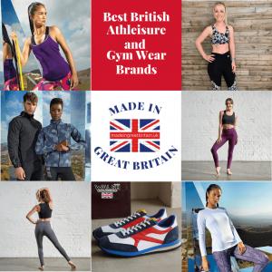 Best British Athleisure and Gym wear brands, made in great britain