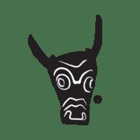 british menswear ushiwear bulls head logo