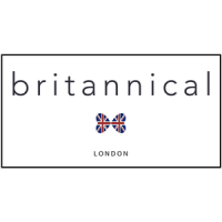british kids clothes, britannical logo text with inion jack bow tie