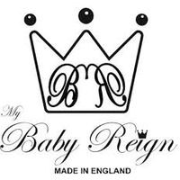 british childrens clothing category image showing my baby reign text and graphic logo
