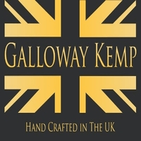 british designer handbags, category image showing galloway kemp text against a british flag with hand crafted in the uk text