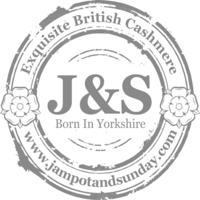 british made bags and accessories category image showing J & S born in yorkshire logo for jampot and sunday