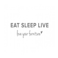 Category image showing eat sleep live unique bespoke furniture designers logo