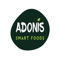 adonis smart foods logo, british food and drink