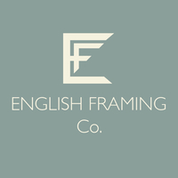 english framing company logo