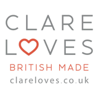 clare loves british made gifts logo