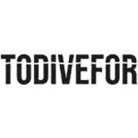 uk made swimwear, category image showing todivefor designer swimwear logo