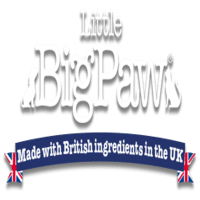 british made pet accessories category image showing little big paes text logo made with british ingredients in the uk text