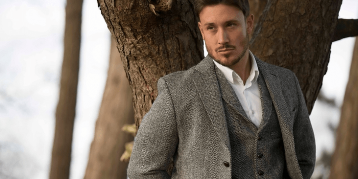 Oxford Blue, Country Clothing, Tweed, Jackets, Made in Great Britain