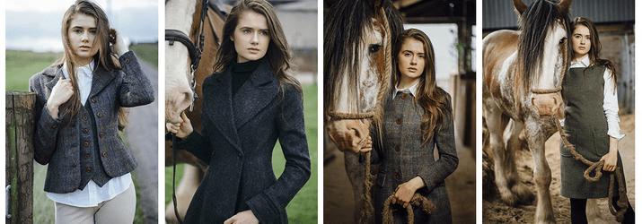 Elizabeth Martin, British Womenswear Brands, Harris Tweed, Made in Great Britain