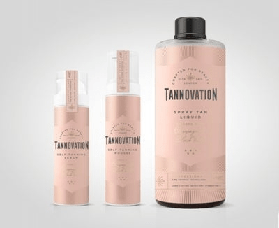 Tannovation, tanning cream, Best British Beauty Brands 2020, made in great britain