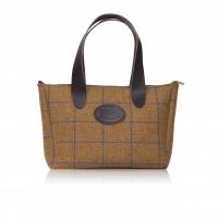 Galloway Kemp, luxury bags, tweed tote bag