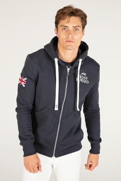 luxury hoodie, teddy edward, made in britain