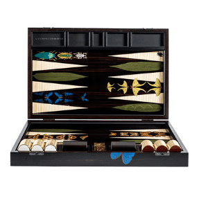 alexandra llewellyn luxury backgammon board game