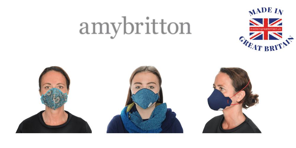 amy britton, reusable face masks, best british made face masks