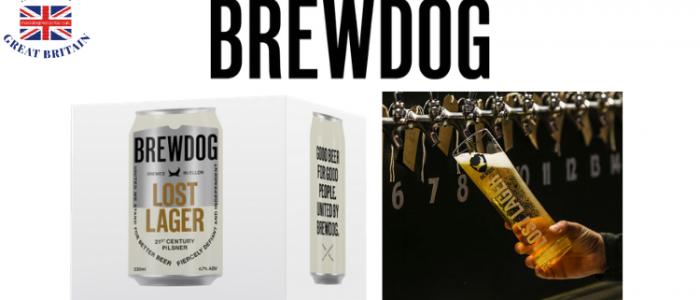 brew dog lost lager 330ml box