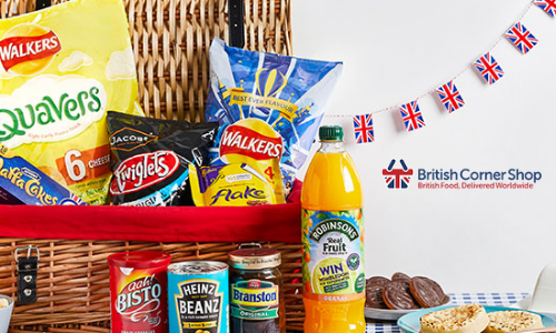 british food brands, british corner shop delivery of groceries and products to expats