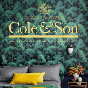 cole and son luxury interior wall coverings and wall paper for palaces and expensive homes