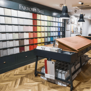 farrow and ball luxury paints, made in great britain