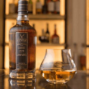 gordon and macphail fine scotch whiskey, made in scotland