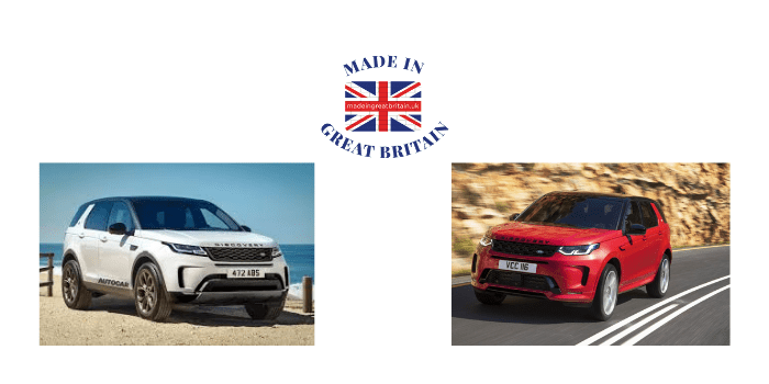 land rover discovery sport, made in britain,