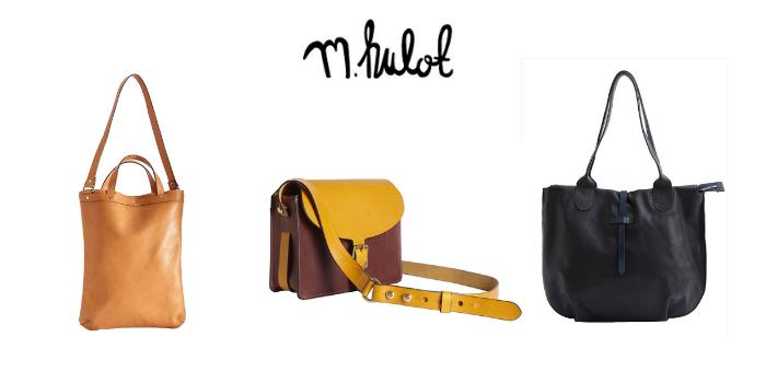 m.hulot handbags cross shoulder and large tote, british handbags, best british handbag brands, british designer handbags, best uk handbag brands