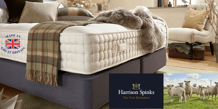 harrison spinks luxury british made mattresses made in uk