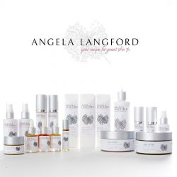 Angela Langford skincare collection, british blog, made in great britain
