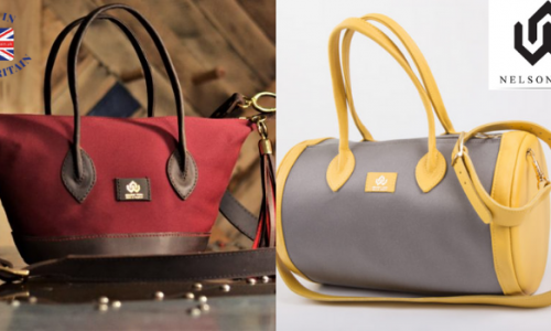 nelson were handmade bags made in great britain