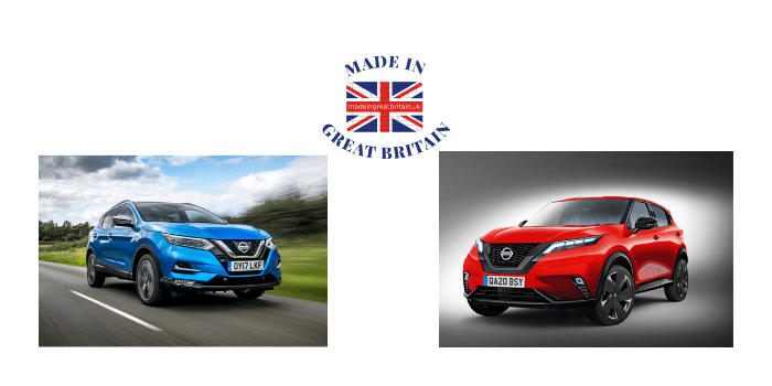 british cars, british made cars, british car manufacturers, nissan qashqai 2020, british car manufacturers