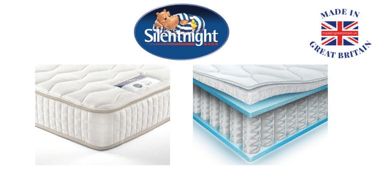 silentnight mattresses and memory foam mattress made in britain,