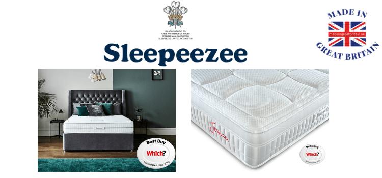 sleepeezzee mattress made in uk voted best by which, uk mattress brands, top uk mattresses,